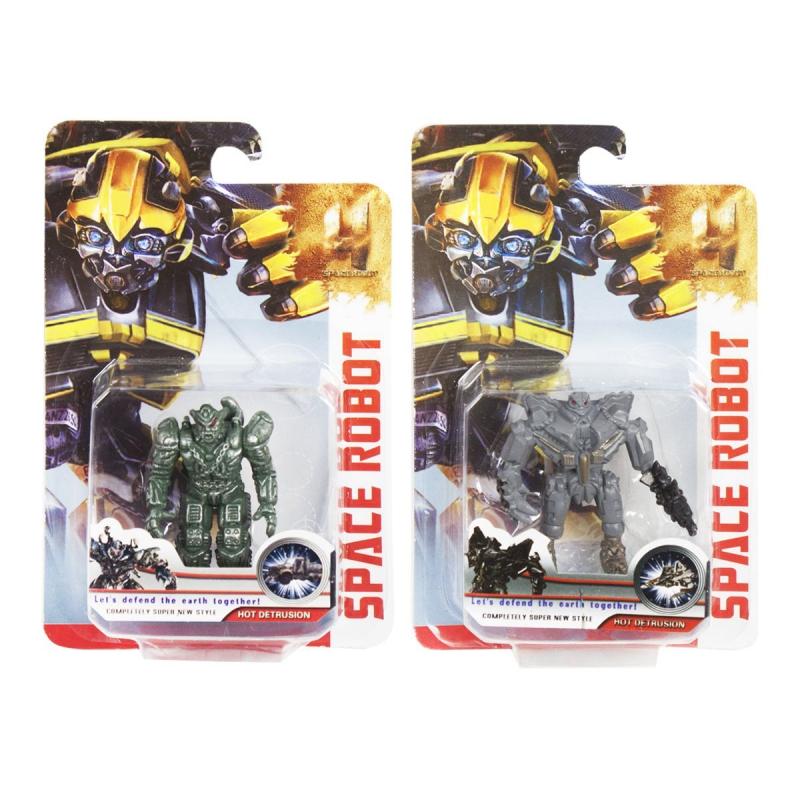 """Фигурки """"Space Robot"""" (серый) 1619A купить в магазине """"Пустун"""""""