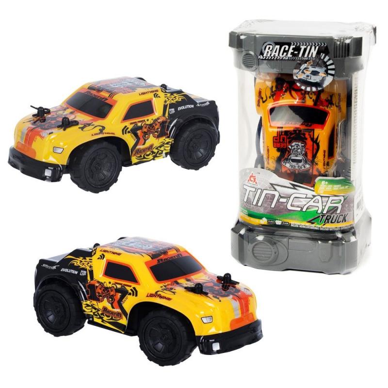 """Машинка на радиоуправлении """"Tin Car"""" (оранжевая) YW253106 купить в магазине """"Пустун"""""""
