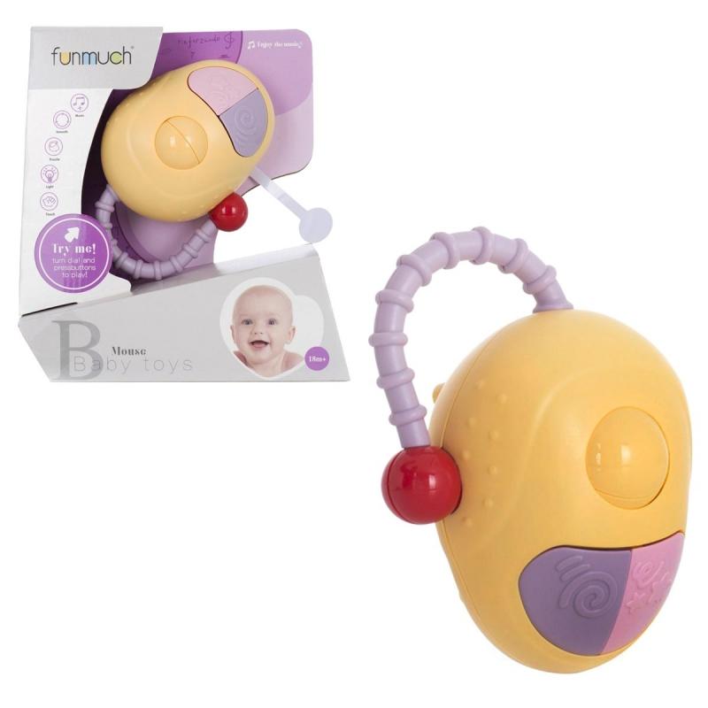 """Музыкальная игрушка Мышка со световыми эффектами купить в магазине """"Пустун"""""""