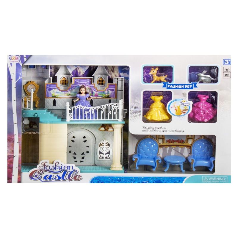 """Замок """"Fashion Castle"""" (с 3-мя игровыми фигурками) SS 070 A купить в магазине """"Пустун"""""""