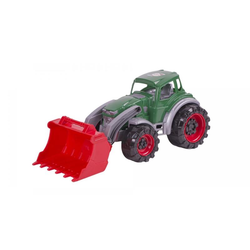 """Трактор погрузчик (зеленый) купить в магазине """"Пустун"""""""