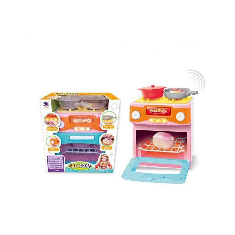 """Плита """"Fun Toys"""", свет, звук XS18067-1 купить в магазине """"Пустун"""""""