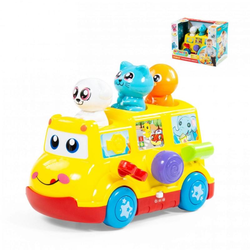"""Развивающая игрушка Школьный автобус купить в магазине """"Пустун"""""""