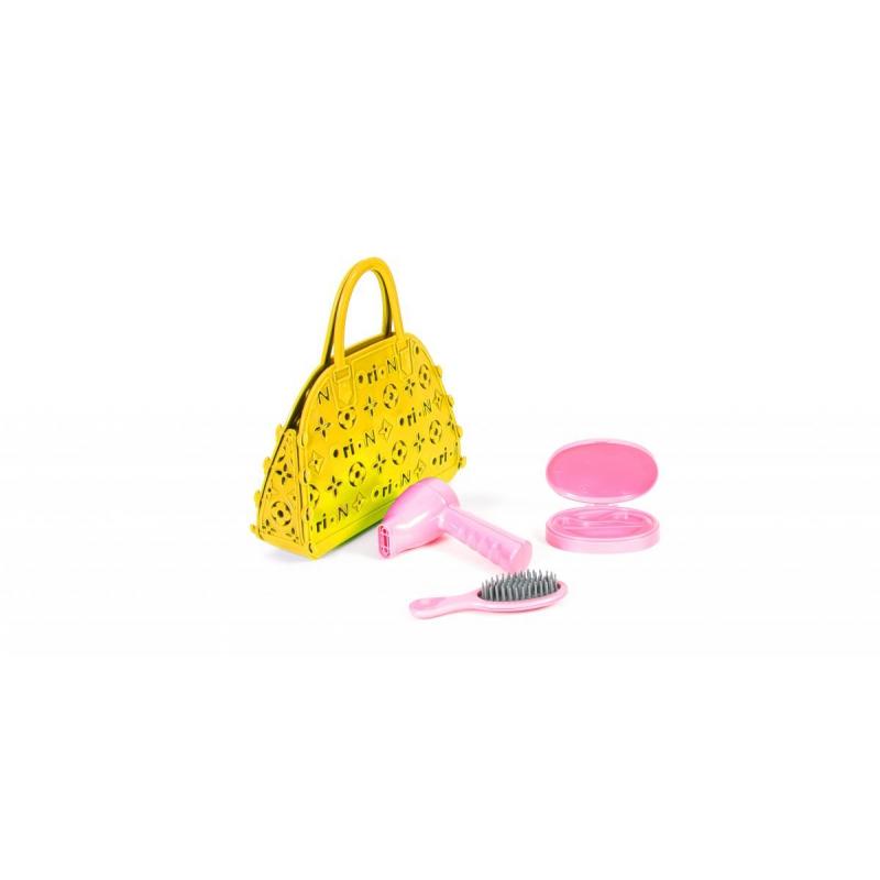 """Сумочка детская с аксессуарами для волос (жёлтая) 154 в.2 купить в магазине """"Пустун"""""""