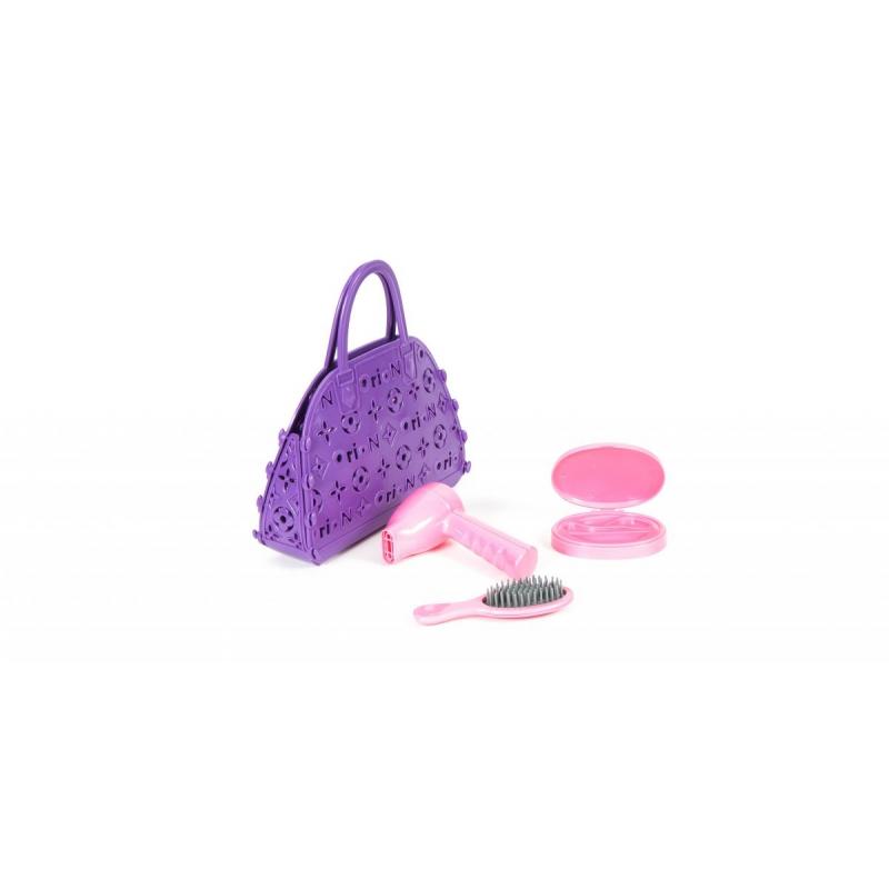 """Сумочка детская с аксессуарами для волос (фиолетовая) 154 в.2 купить в магазине """"Пустун"""""""