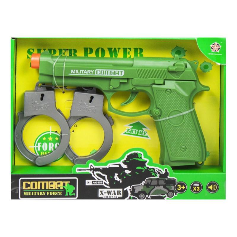 """Военный набор оружия (зеленый) купить в магазине """"Пустун"""""""