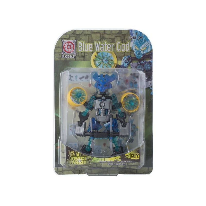 """Игрушечный набор """"Space Baby. Space Warrior"""" (Blue Water God) SB1080 купить в магазине """"Пустун"""""""