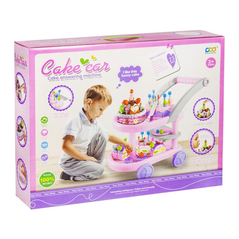 """Игровой набор """"Столик с десертами"""", 75 элементов HC268524 купить в магазине """"Пустун"""""""