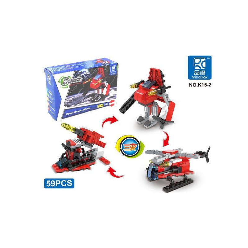 """Конструктор Robot Blocks World Робот 59 деталей купить в магазине """"Пустун"""""""