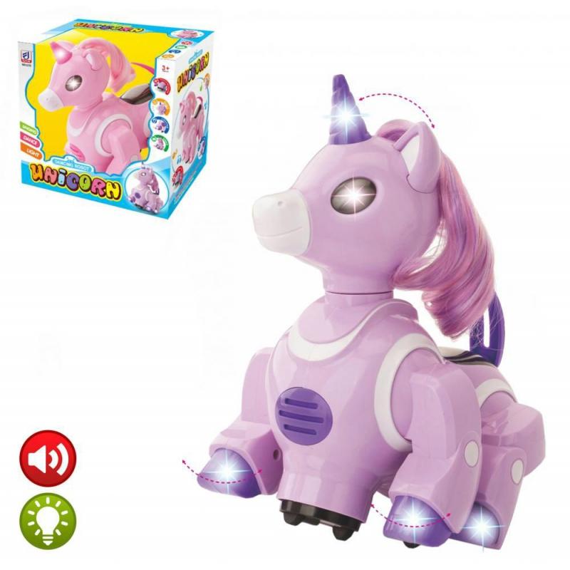 """Музыкальная игрушка """"Единорог"""" (фиолетовый) HC268720 купить в магазине """"Пустун"""""""