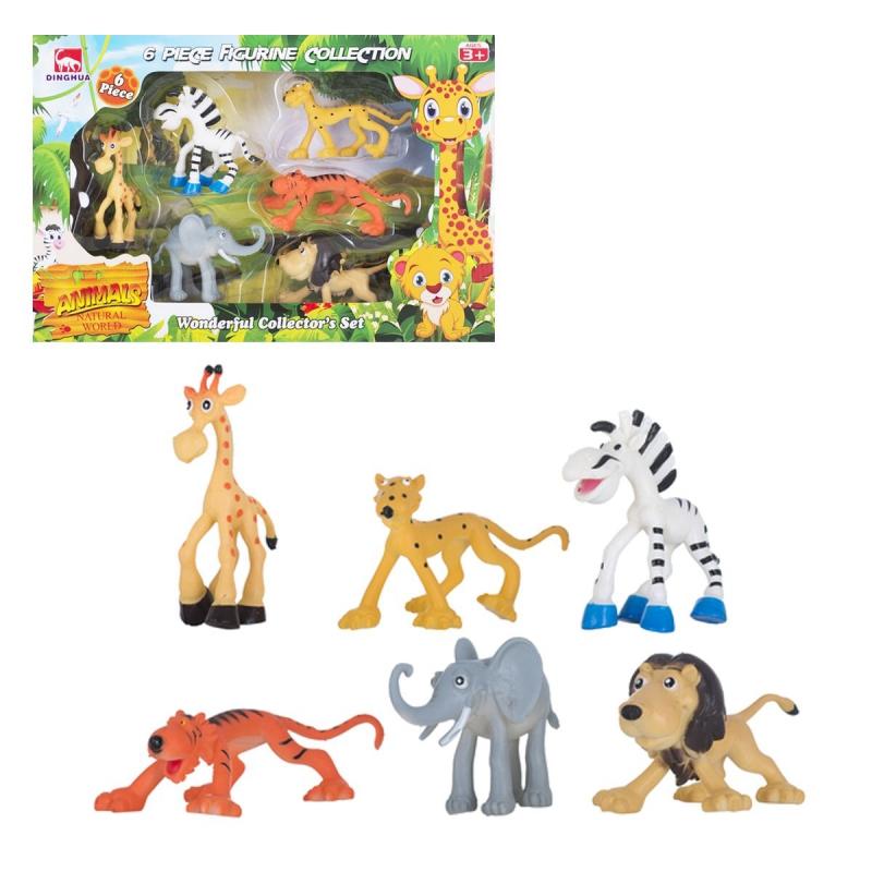 """Набор фигурок """"Африканские животные"""" D0100 купить в магазине """"Пустун"""""""