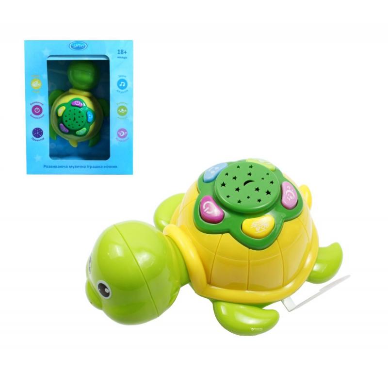"""Музыкальная игрушка-ночник Черепаха купить в магазине """"Пустун"""""""