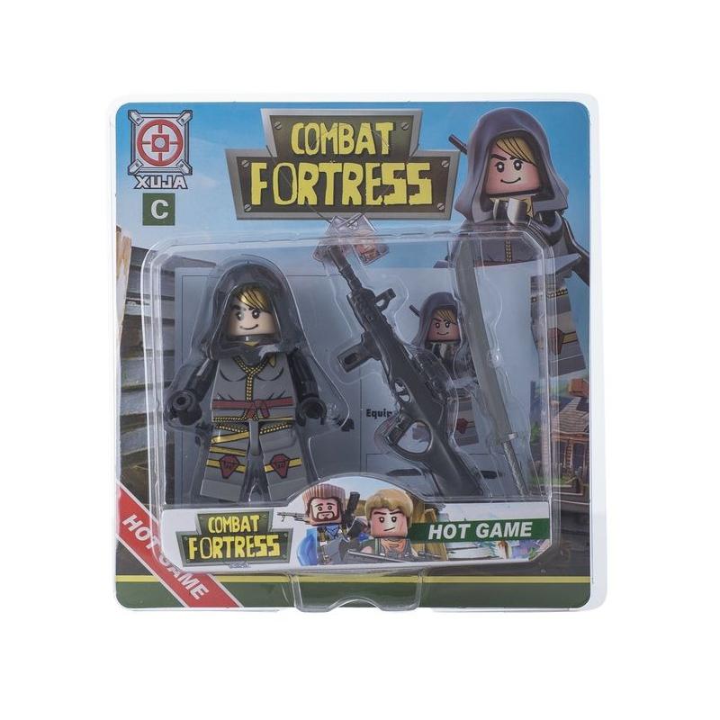"""Игрушечный набор """"Combat Fortress"""" (серый) SB1000 купить в магазине """"Пустун"""""""
