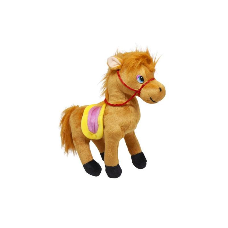 """Мягкая игрушка Лошадка (рыжий) купить в магазине """"Пустун"""""""