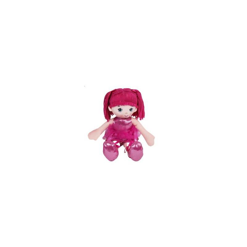 """Кукла мягкая малиновый купить в магазине """"Пустун"""""""
