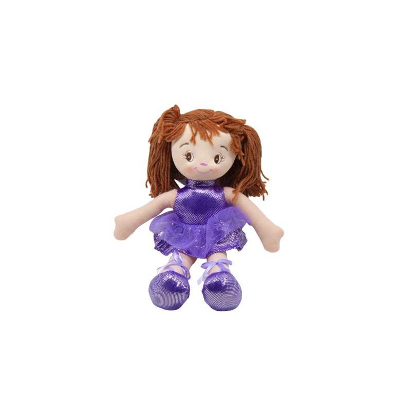 """Кукла мягкая (фиолетовый) купить в магазине """"Пустун"""""""