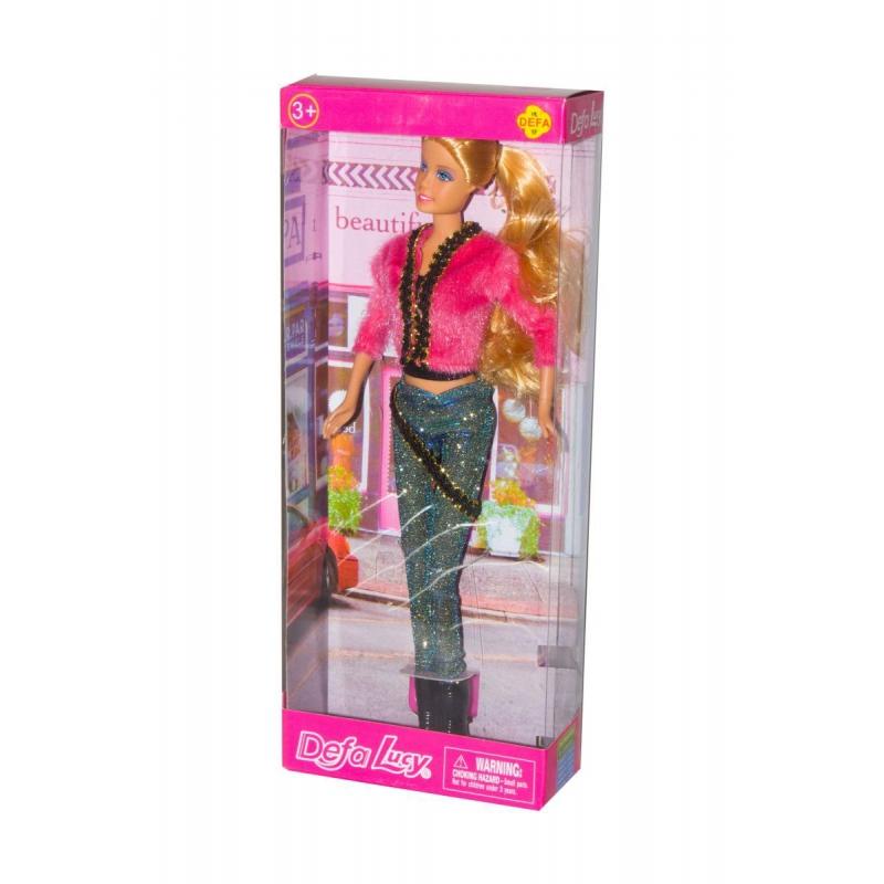 """Кукла Defa Lucy (в голубых штанах) купить в магазине """"Пустун"""""""