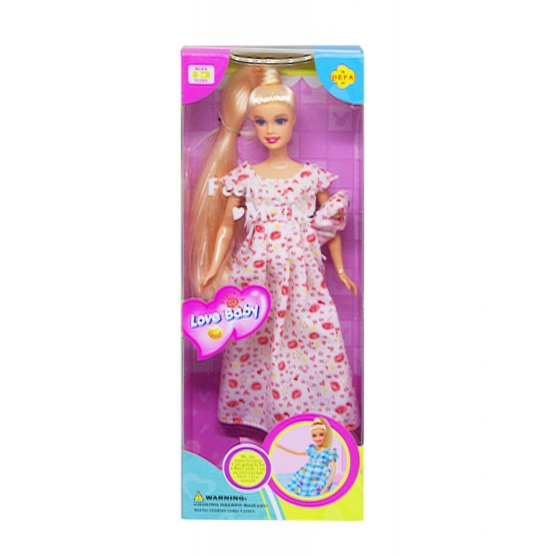 """Кукла Defa Беременная платье в цветочек купить в магазине """"Пустун"""""""