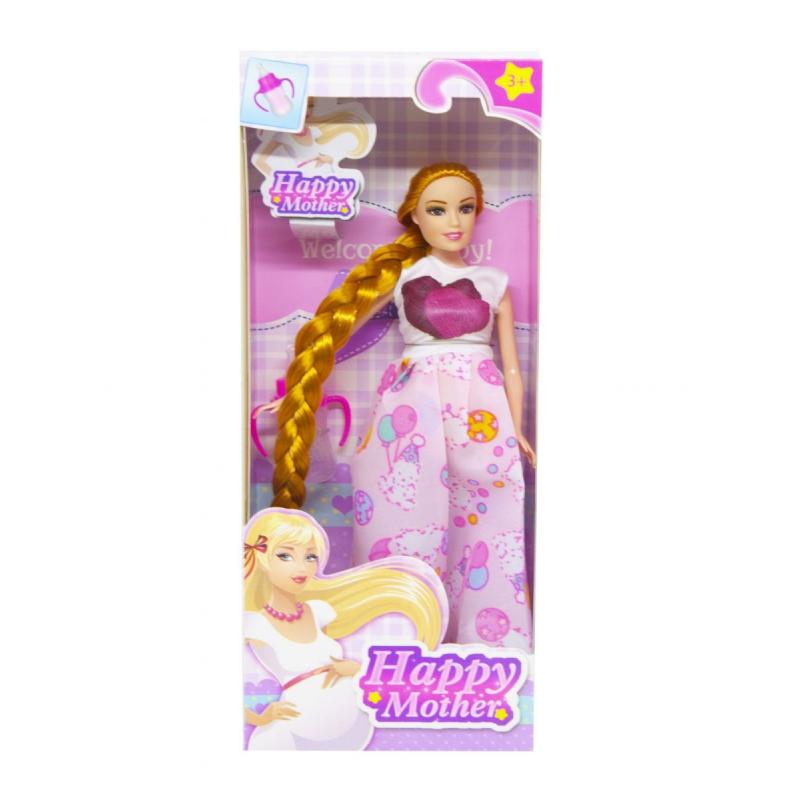 """Кукла Счастливая мама (платье с мишками) купить в магазине """"Пустун"""""""