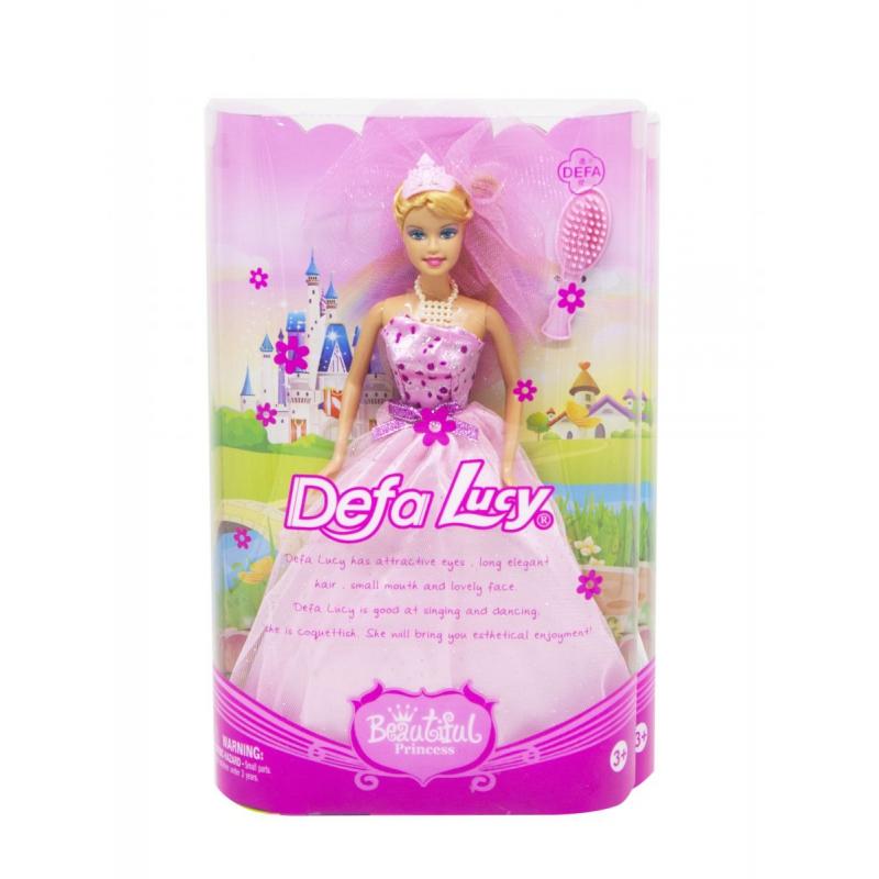 """Кукла Невеста ( в розовом) купить в магазине """"Пустун"""""""