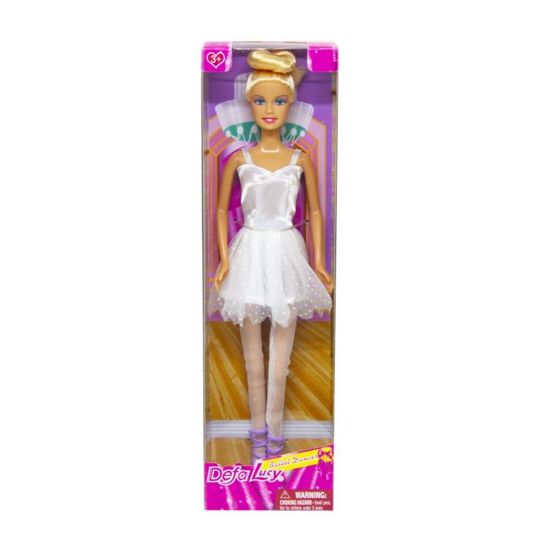 """Кукла Defa. Балерина (в белом) купить в магазине """"Пустун"""""""