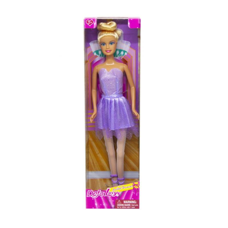 """Кукла Defa Балерина в фиолетовом купить в магазине """"Пустун"""""""