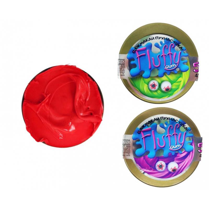 "Лизун-антистресс Mr. Boo: Флаффи слайм, шайба, 45 г купить в магазине ""Пустун"""