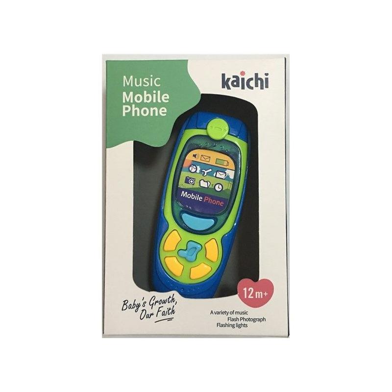 """Телефон интерактивный Music Phone (синий) купить в магазине """"Пустун"""""""