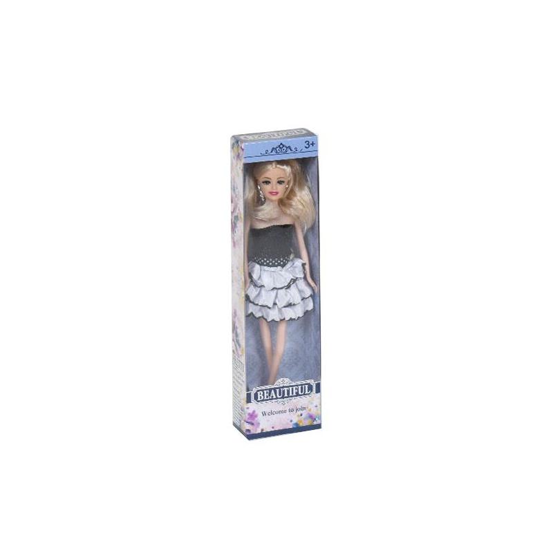 """Кукла Beautiful (с серебристыми волосами) купить в магазине """"Пустун"""""""