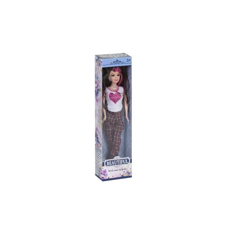 """Кукла Beautiful (с коричневыми волосами) купить в магазине """"Пустун"""""""