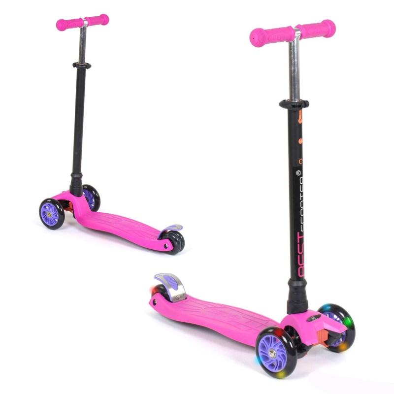 """Самокат """"Best Scooter Maxi"""" детский (розовый) 113-23101 купить в магазине """"Пустун"""""""