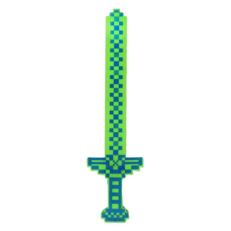 """Меч MINECRAFT (зеленый, голубой) купить в магазине """"Пустун"""""""