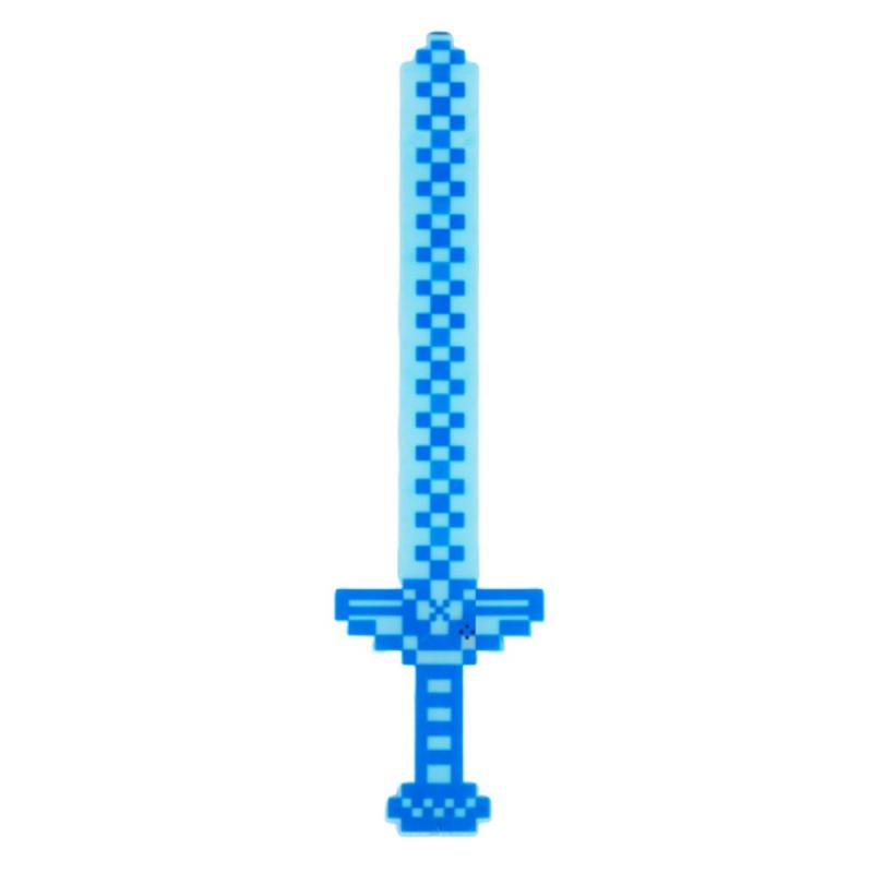 """Меч MINECRAFT (синий, голубой) купить в магазине """"Пустун"""""""