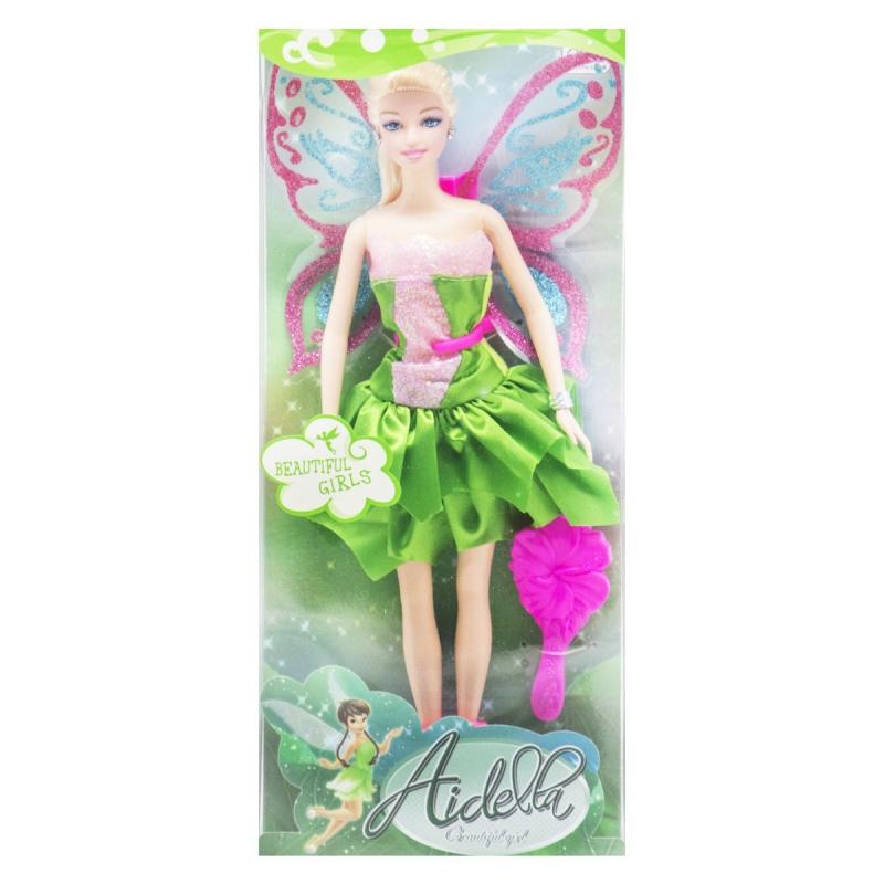 """Кукла Фея зелёный с розовым купить в магазине """"Пустун"""""""