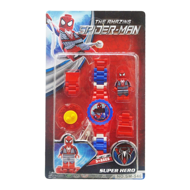 """Детский набор Человек паук с часами купить в магазине """"Пустун"""""""