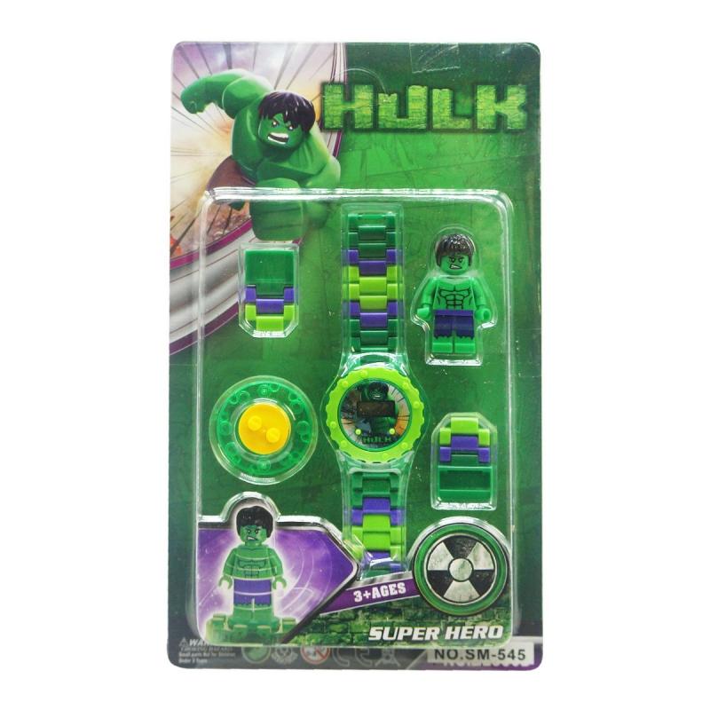 """Детский набор Hulk с часами купить в магазине """"Пустун"""""""