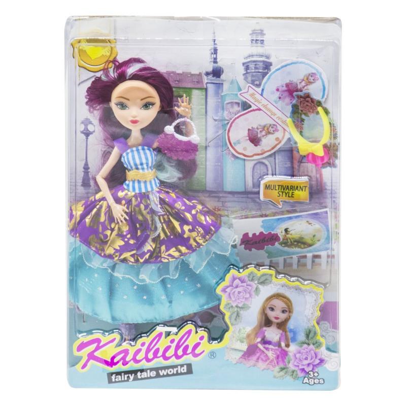 """Кукла KAIBIBI Fairy Tale World с аксессуарами фиолетовый купить в магазине """"Пустун"""""""