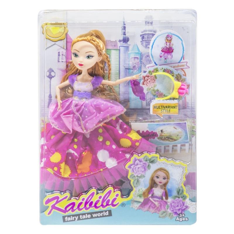 "Кукла KAIBIBI Fairy Tale World с аксессуарами малиновый купить в магазине ""Пустун"""