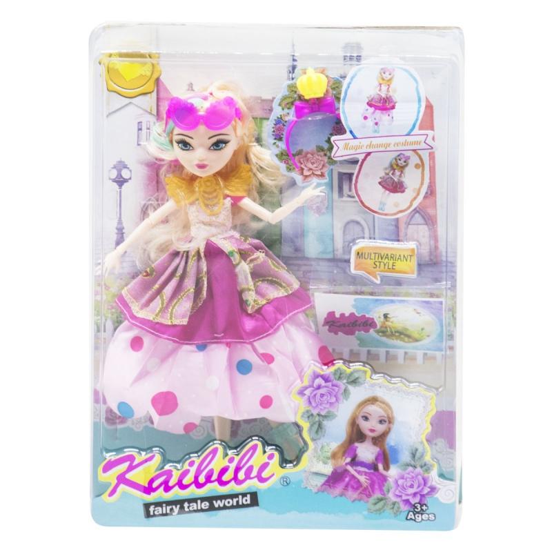 "Кукла KAIBIBI Fairy Tale World с аксессуарами розовый купить в магазине ""Пустун"""