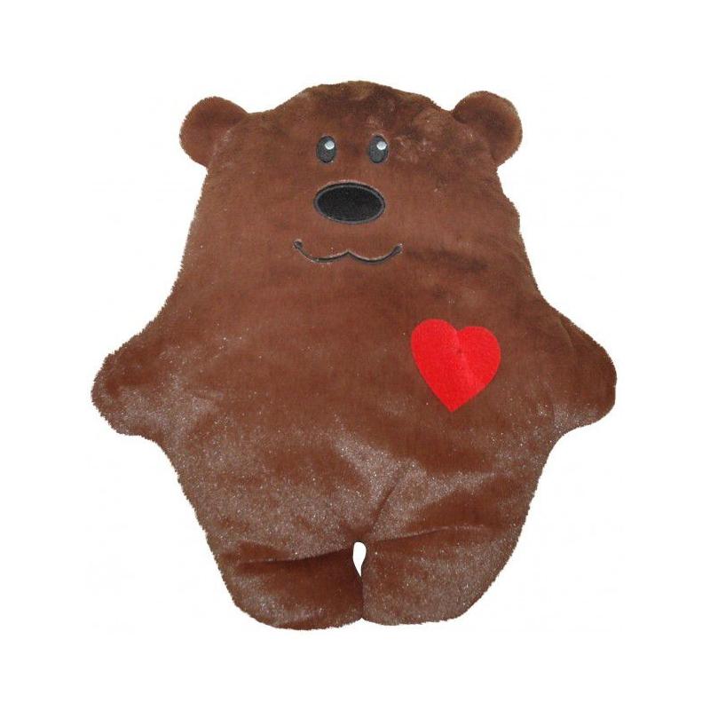 """Подушка Медвежонок с сердечком купить в магазине """"Пустун"""""""