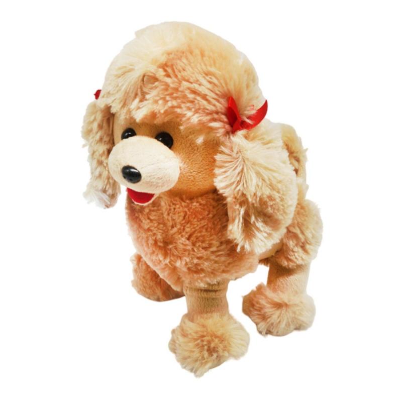 """Мягкая игрушка Пудель коричневый купить в магазине """"Пустун"""""""