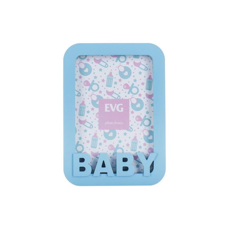 """Фоторамка """"Baby"""" (голубой) FRESH 10X15 2 купить в магазине """"Пустун"""""""