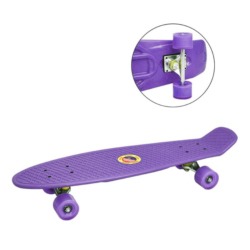 """Пенни Борд (фиолетовый) BT-YSB-0057 купить в магазине """"Пустун"""""""