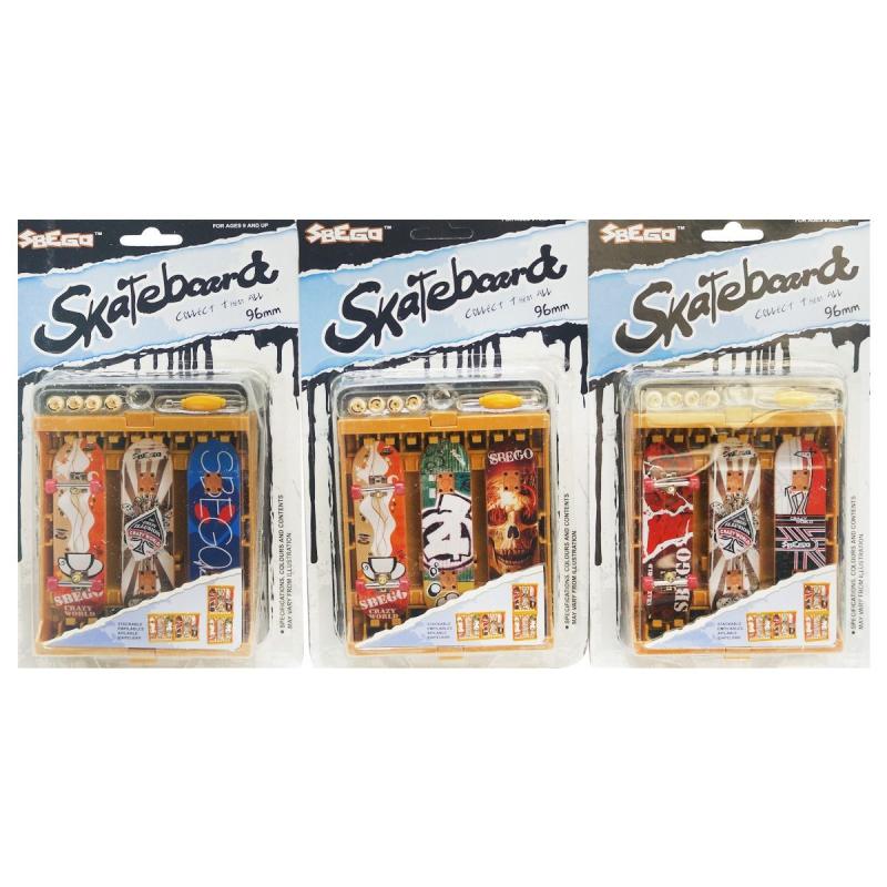 """Фингерборд Skateboard с двумя сменными деками купить в магазине """"Пустун"""""""