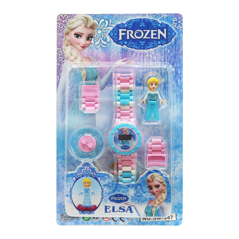 """Детский набор Frozen Эльза с часами купить в магазине """"Пустун"""""""