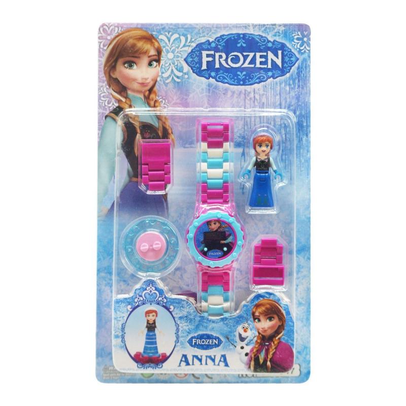 """Детский набор Frozen: Анна с часами купить в магазине """"Пустун"""""""