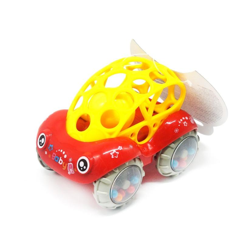 """Игрушка-погремушка """"Машинка"""" (красная) Б 339 купить в магазине """"Пустун"""""""