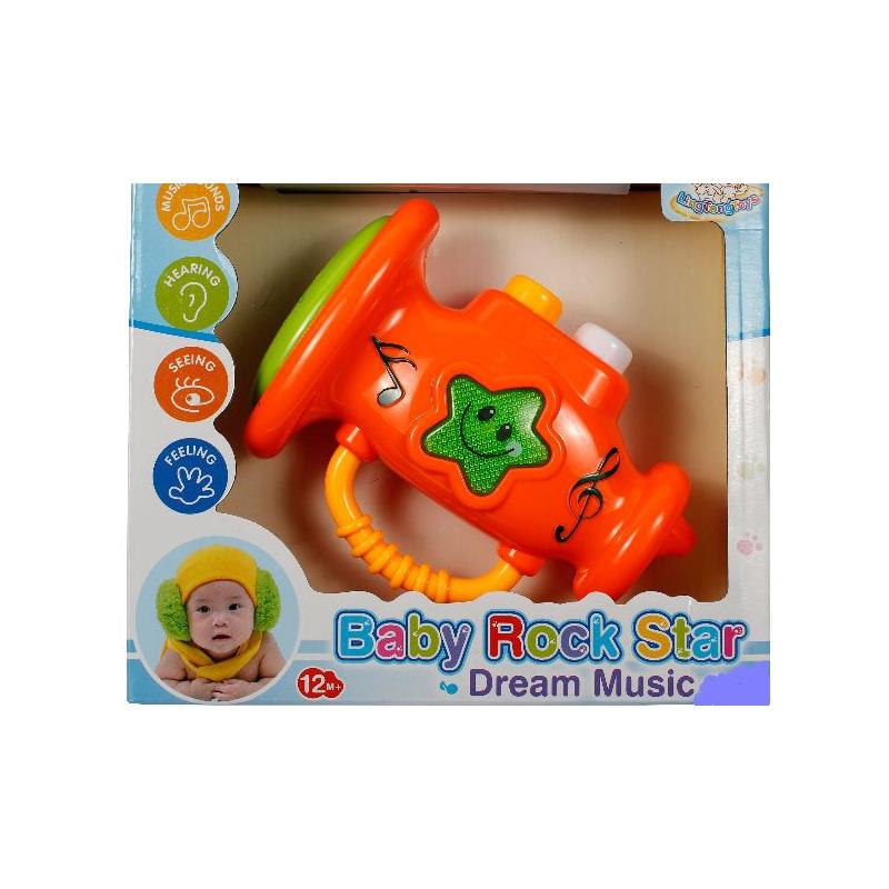 """Труба Baby Rock Star (оранжевый) купить в магазине """"Пустун"""""""