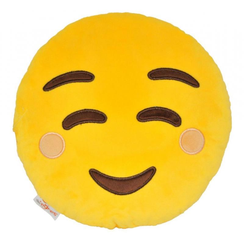 """Подушка TIGRES эмоджи Smile (ПД-0314) купить в магазине """"Пустун"""""""