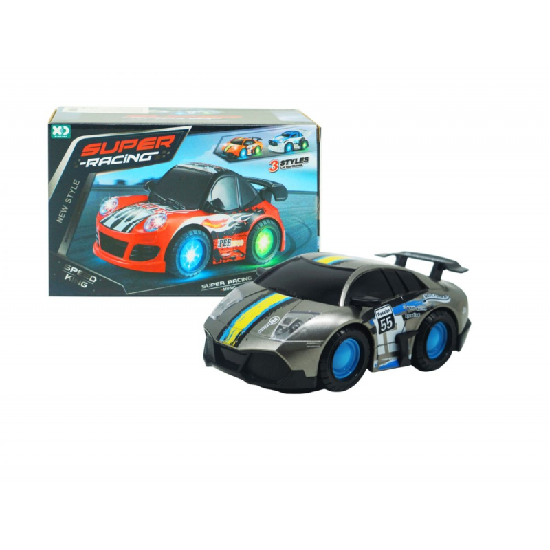 """Машинка Super Racing серый купить в магазине """"Пустун"""""""